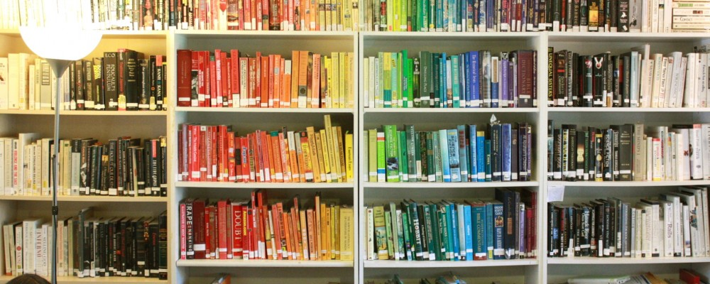 Rainbow of Books.