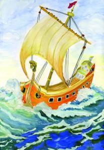 цапинская анна далекое плавание